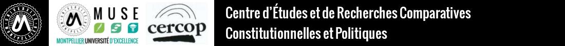 Centre d'Études et de Recherches Comparatives Constitutionnelles et Politiques Logo